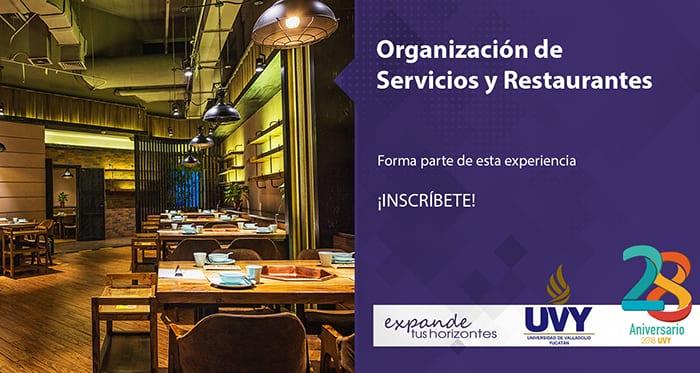 Organización de Servicios y Restaurantes