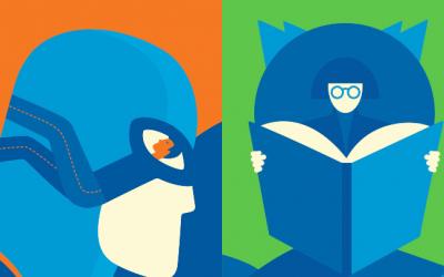 Esta campaña ilustrada invita a convertirte en un héroe aburriéndote en casa
